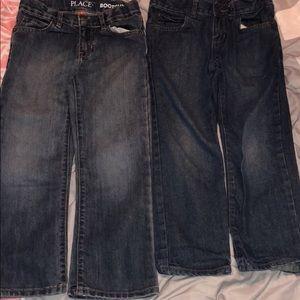 Little boys children's place size 5 jeans